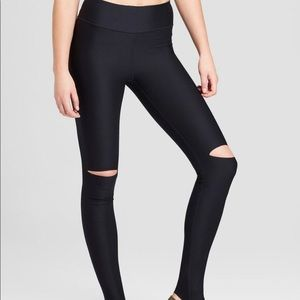 Joy Lab Destroyed Black Leggings